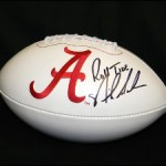 Crimson Collectible: Nick Saban Autographed Football
