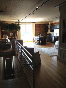 Two Nights at the College's Beautiful Loft