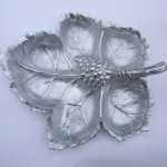 Arthur Court Pewter Leaf Tray