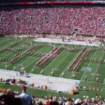 Conduct the Star Spangled Banner with The Million Dollar Band