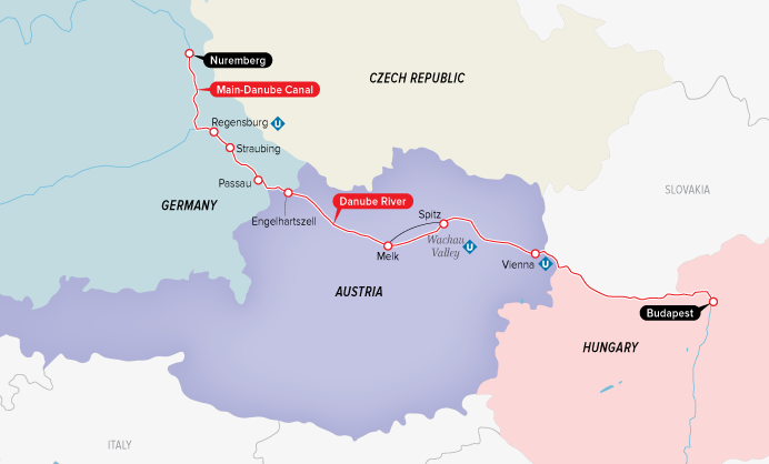 All-Inclusive Danube River Cruise for Two